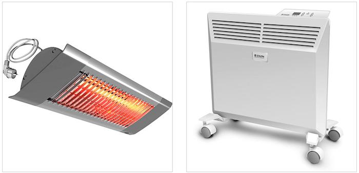Какой обогреватель лучше инфракрасный или тепловентилятор