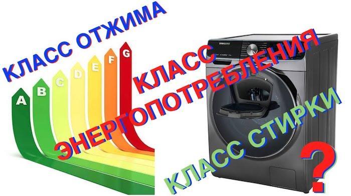 Класс эффективности отжима стиральных машин - Какой класс лучше