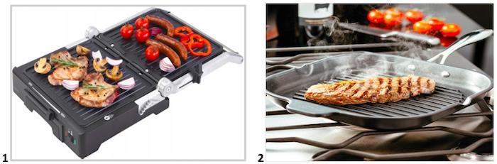 Что лучше выбрать сковороду гриль или электрогриль