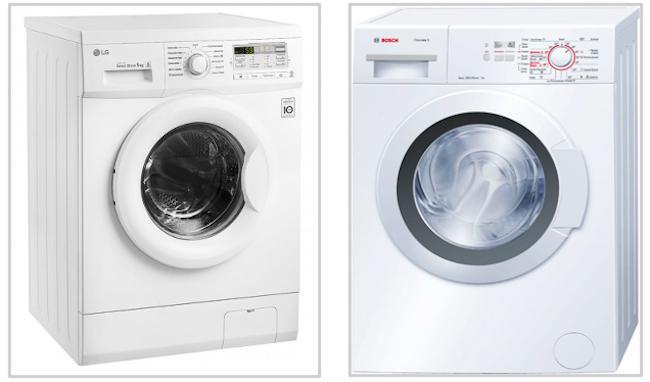 Какая стиральная машина лучше Бош или LG