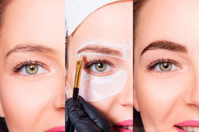 Окрашивание бровей хной или краской: что лучше, отличия, чем красить