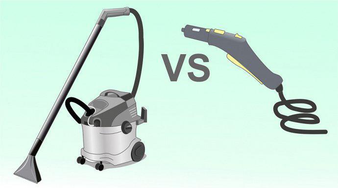 Что выбрать моющий пылесос или пароочиститель