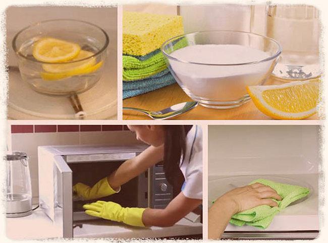 Как отмыть микроволновку внутри в домашних условиях - Как быстро очистить СВЧ-печь от жира