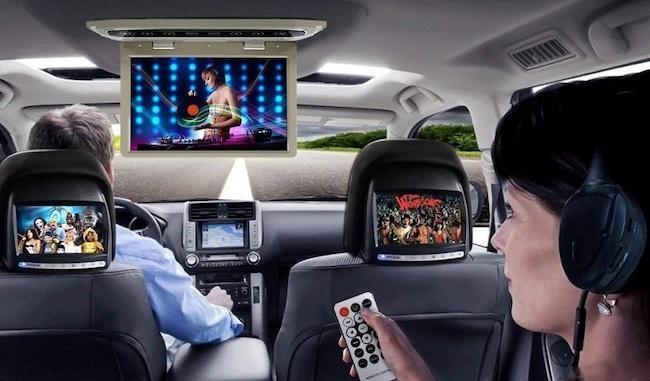 Телевизор в машину - ТОП 7 лучших