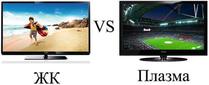 Чем отличается плазменный телевизор от жидкокристаллического
