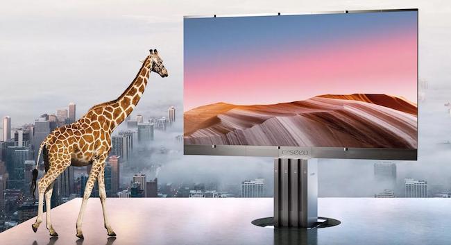 Самый большой телевизор - Популярные телевизоры с большим экраном