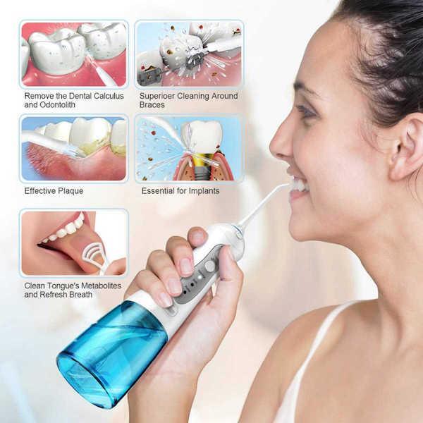 Как пользоваться ирригатором для полости рта