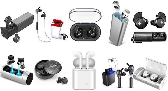 Рейтинг лучших беспроводных Bluetooth наушников-вкладышей