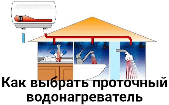 Как и какой проточный водонагреватель выбрать для квартиры и дачи - ТОП 10